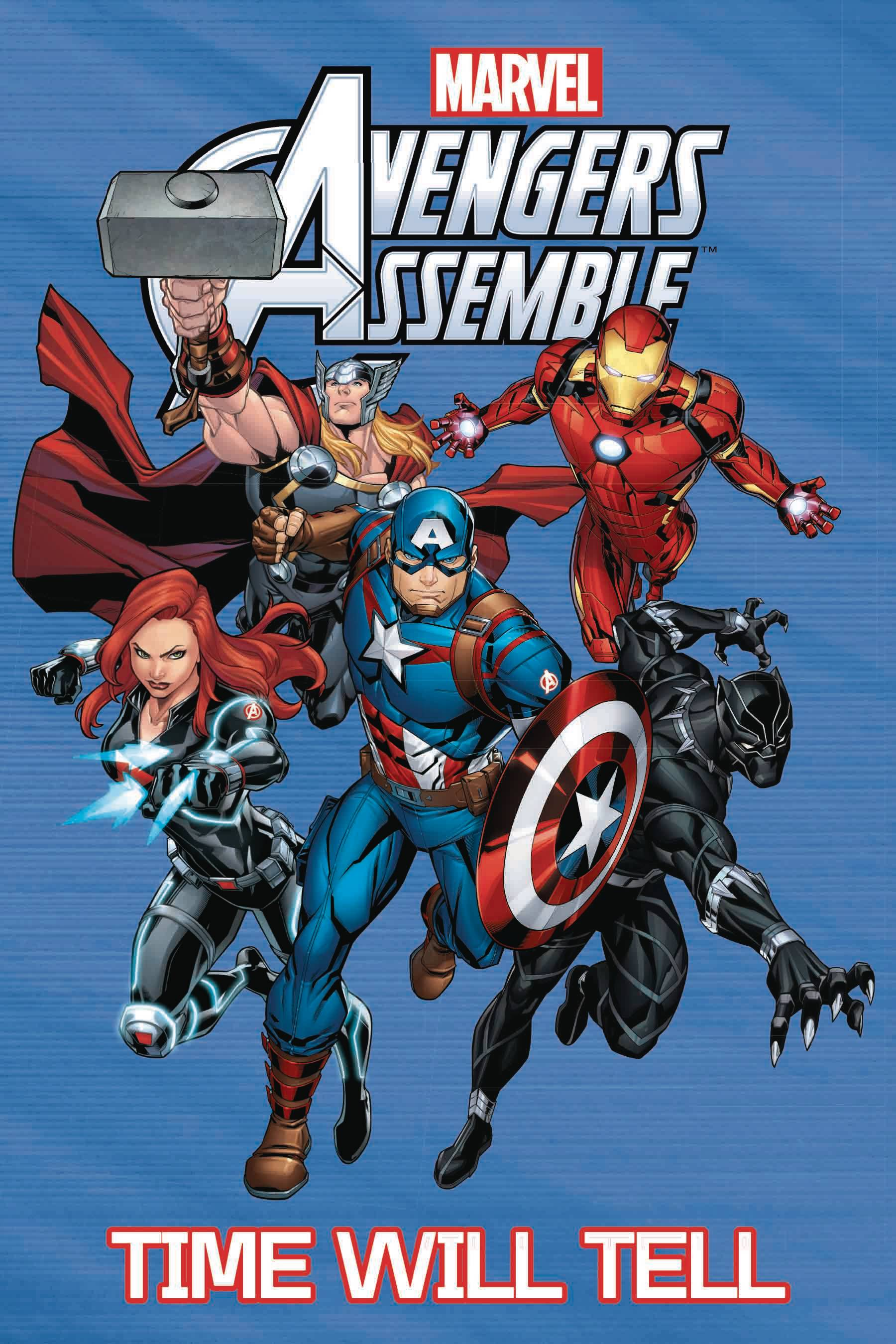 AVENGERS ASSEMBLE GN TP TIME WILL TELL