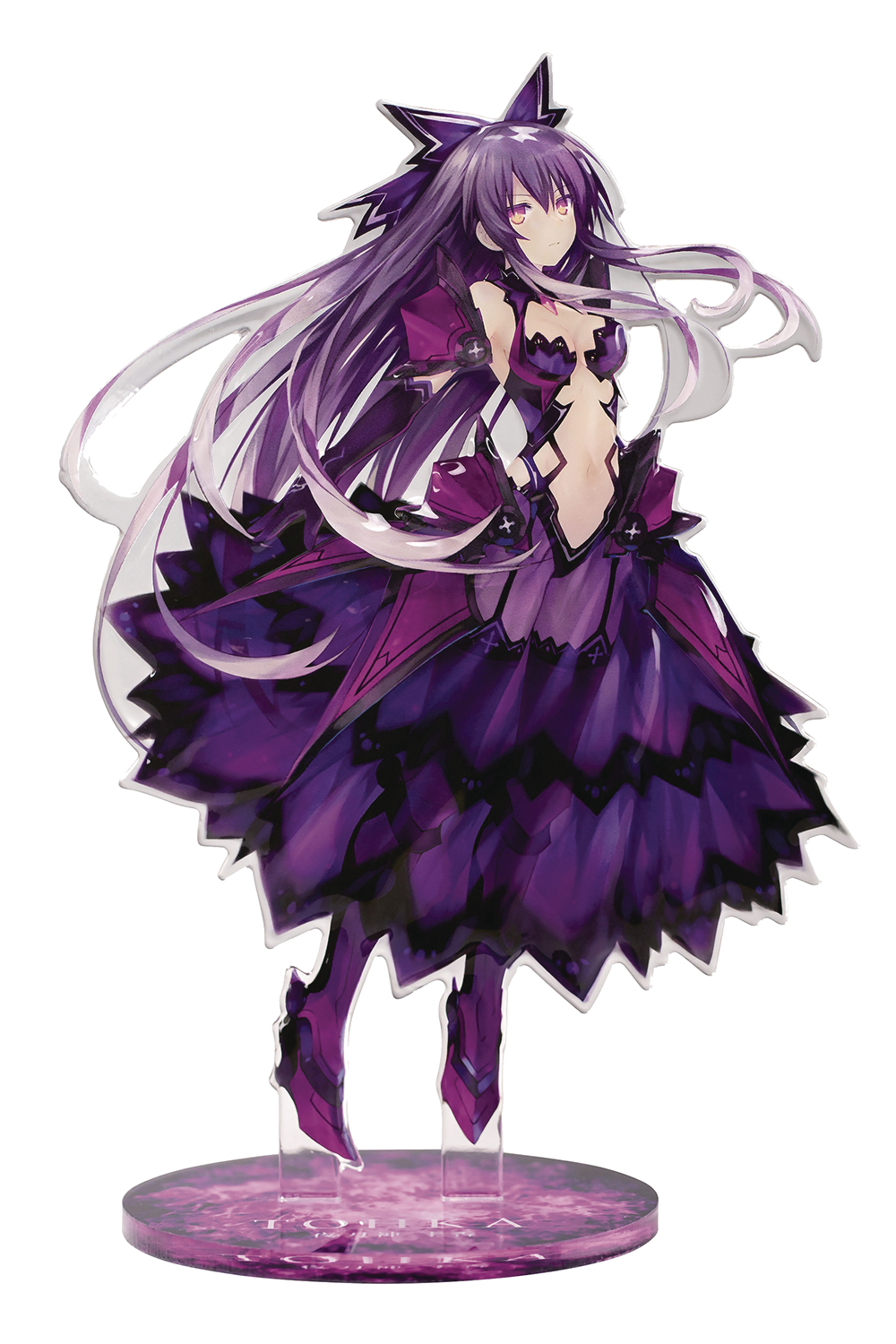 DATE A LIVE TOHKA YATOGAMI SEMI-3D ACRYLIC FIG INVERTED VER