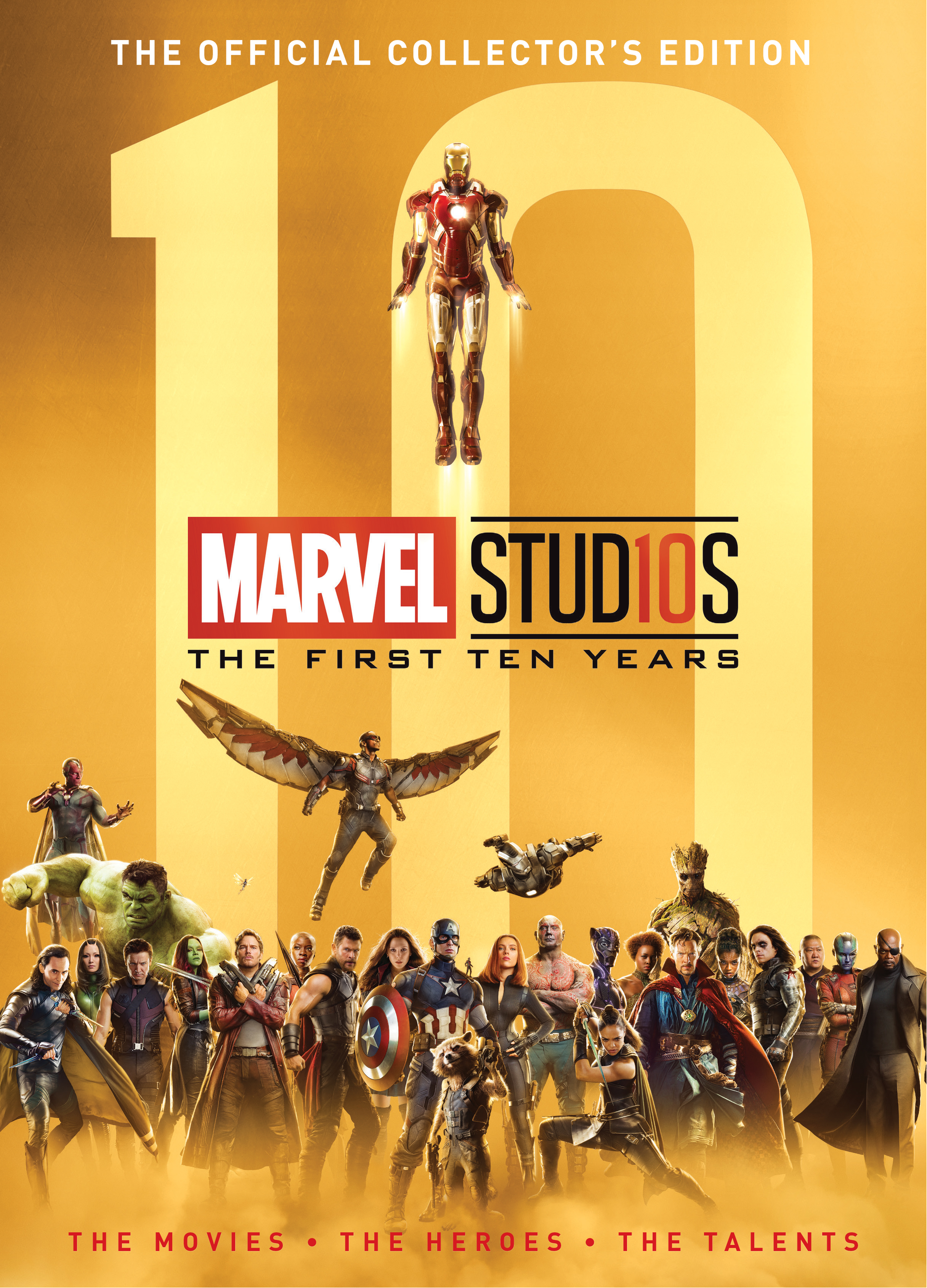 (USE MAR198349) MARVEL STUDIOS FIRST 10 YEARS HC