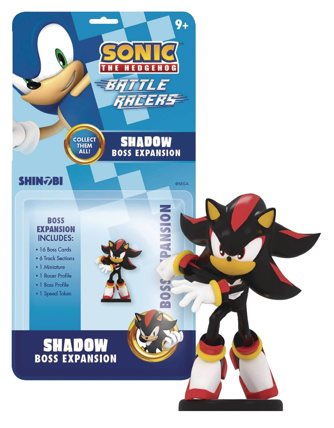 SONIC THE HEDGEHOG BATTLE RACERS BOSS EXP SHADOW