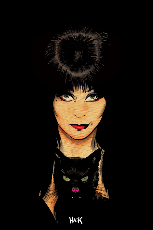 ELVIRA MISTRESS OF DARK #5 20 COPY HACK VIRGIN INCV