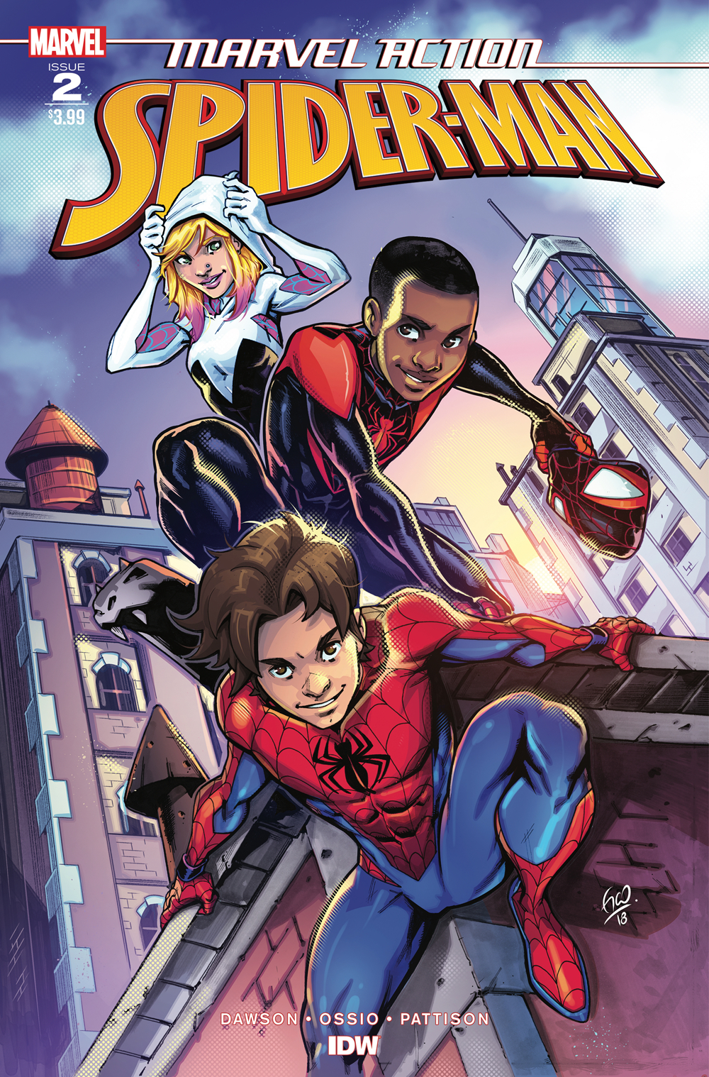 MARVEL ACTION SPIDER-MAN #2