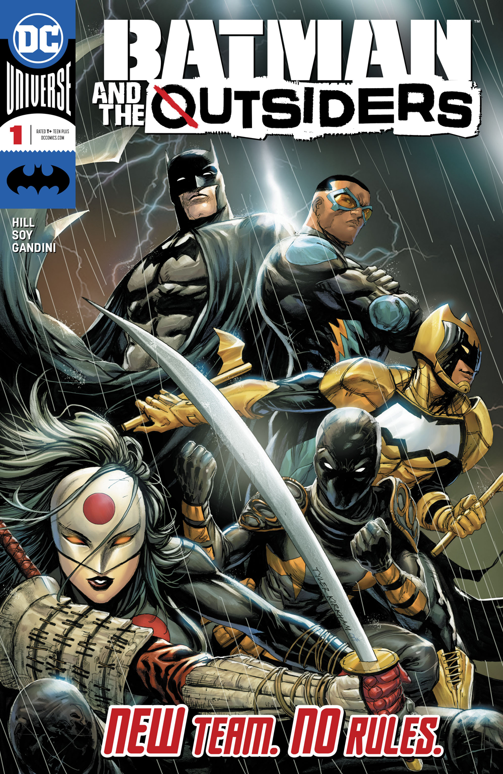 BATMAN AND THE OUTSIDERS #1 (RES)