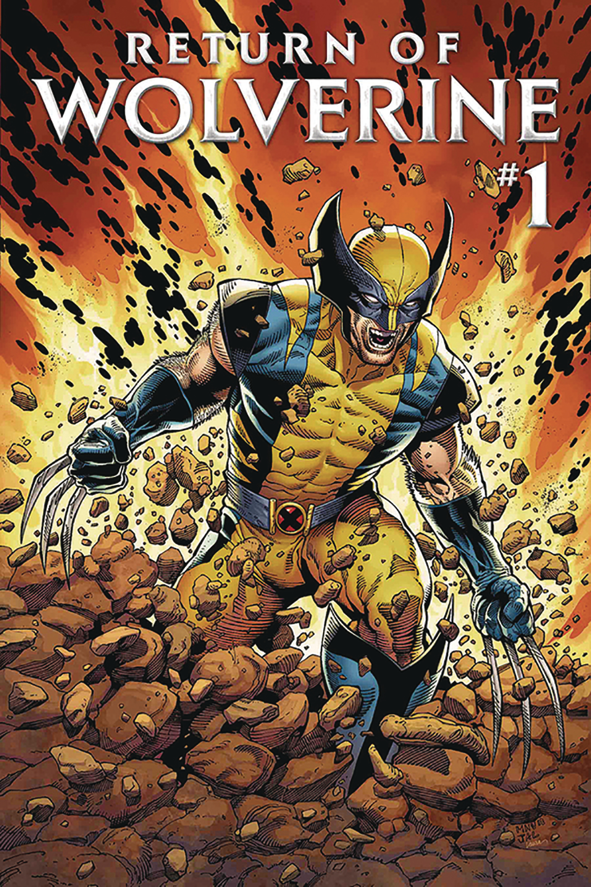 DF RETURN OF WOLVERINE #1 SGN ROMITA SR
