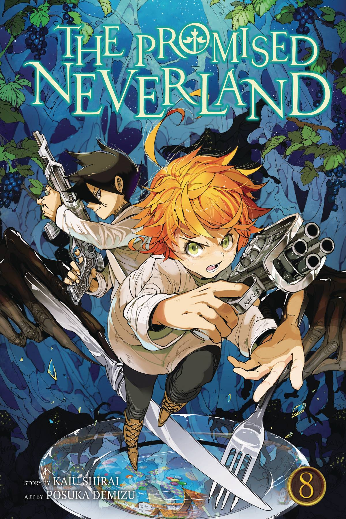 PROMISED NEVERLAND GN VOL 08