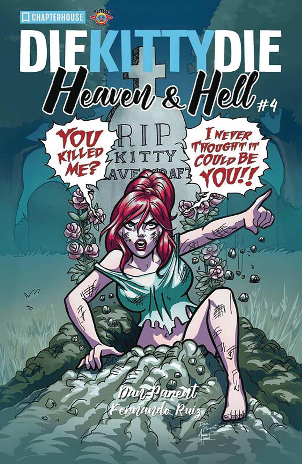 DIE KITTY DIE HEAVEN AND HELL #4 CVR A PARENT