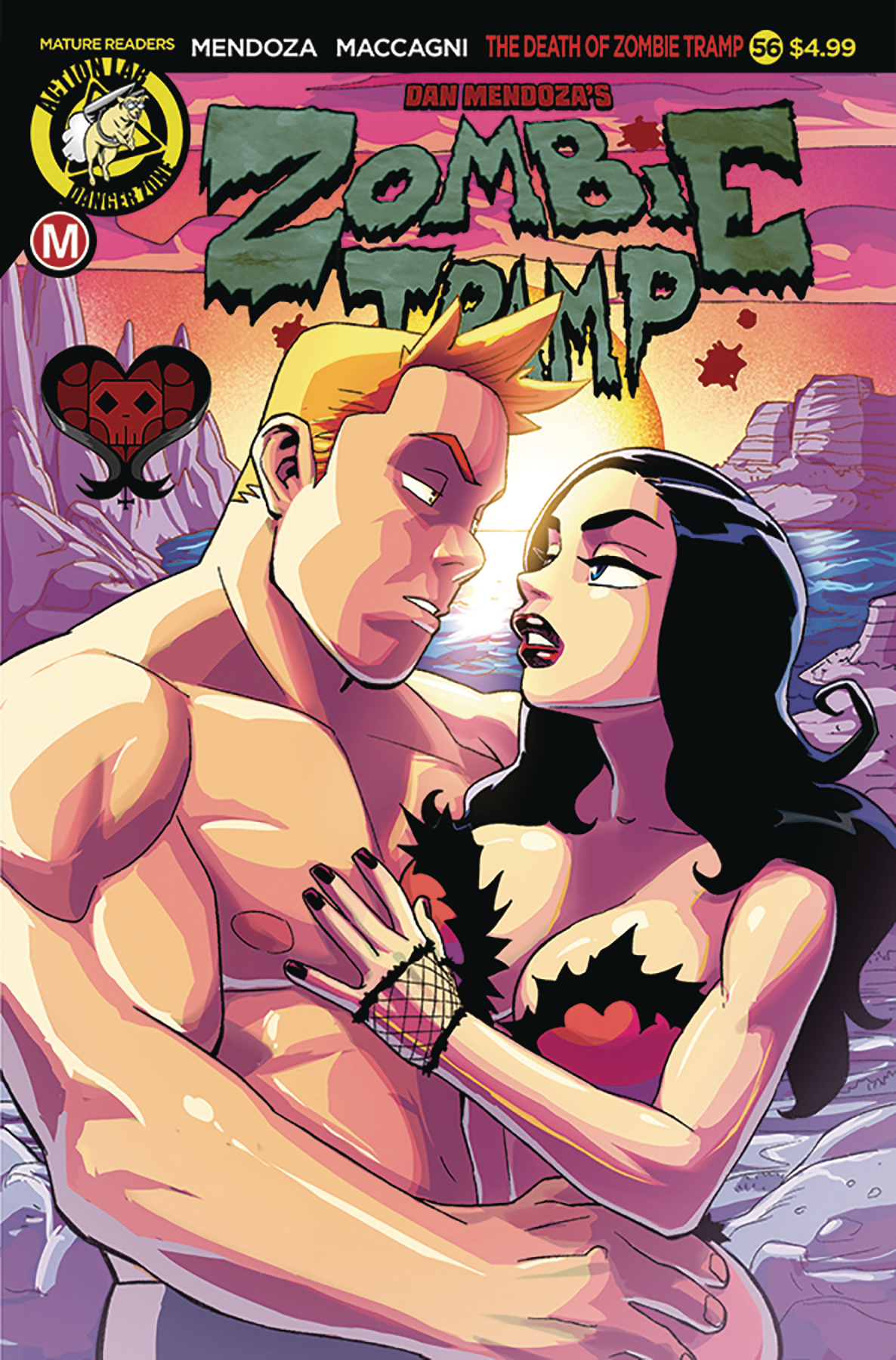 ZOMBIE TRAMP ONGOING #56 CVR A WINSTON YOUNG (MR)