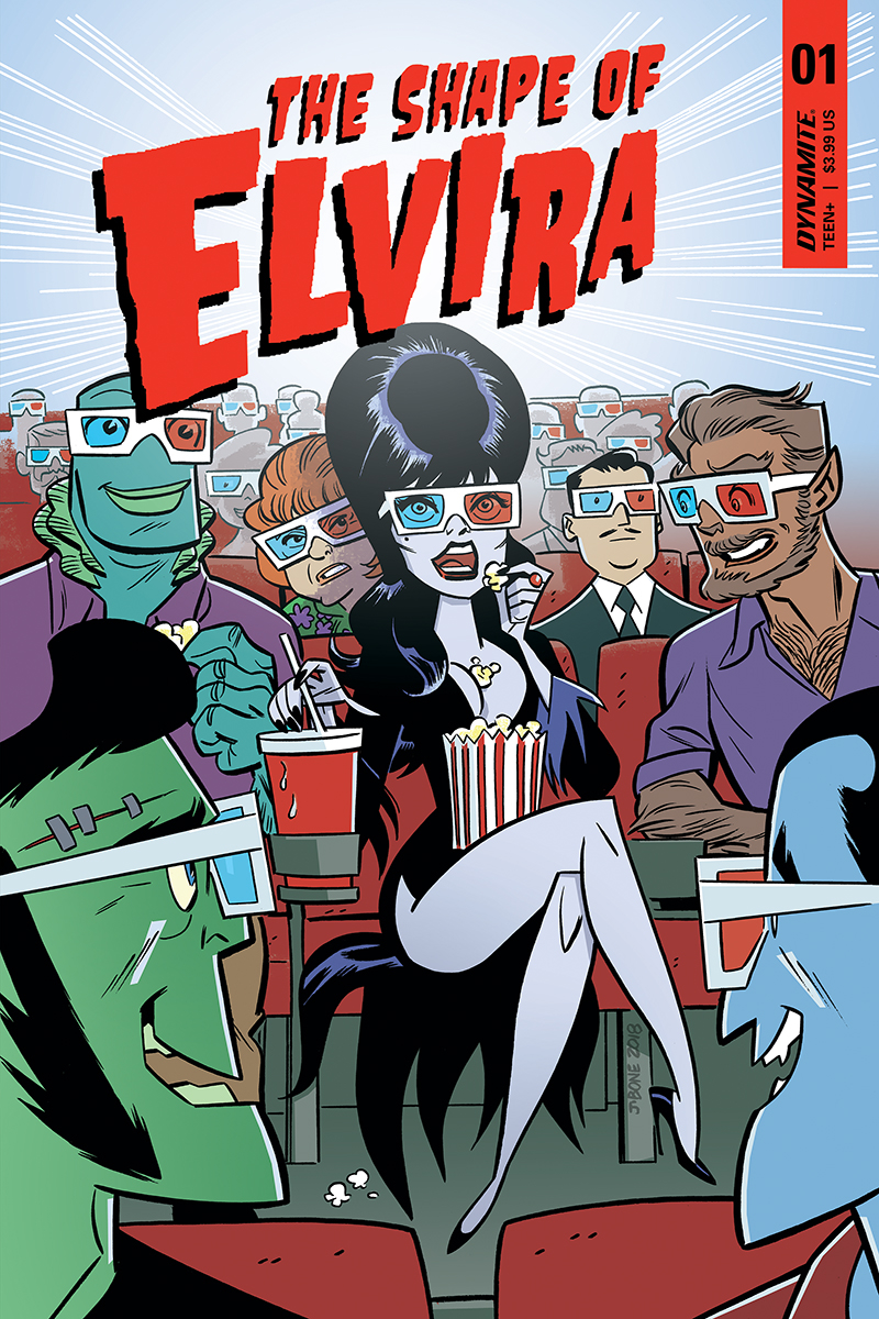 ELVIRA SHAPE OF ELVIRA #1 CVR B J BONE
