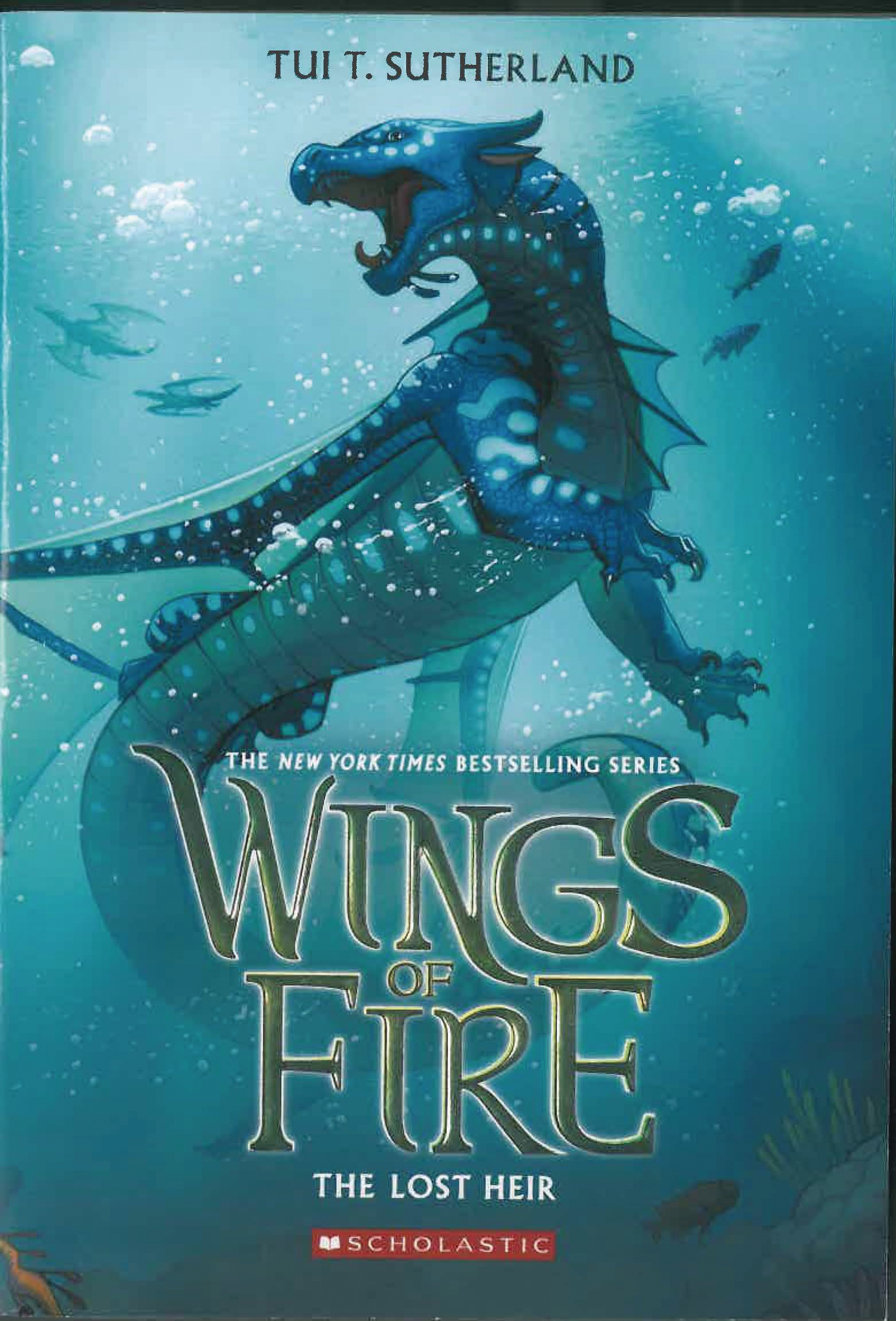 WINGS OF FIRE HC GN VOL 02 LOST HEIR