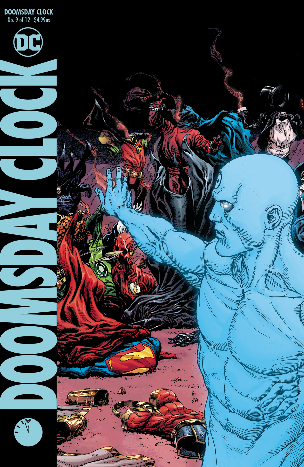 Nov180435 Doomsday Clock 9 Of 12 Var Ed Previews World