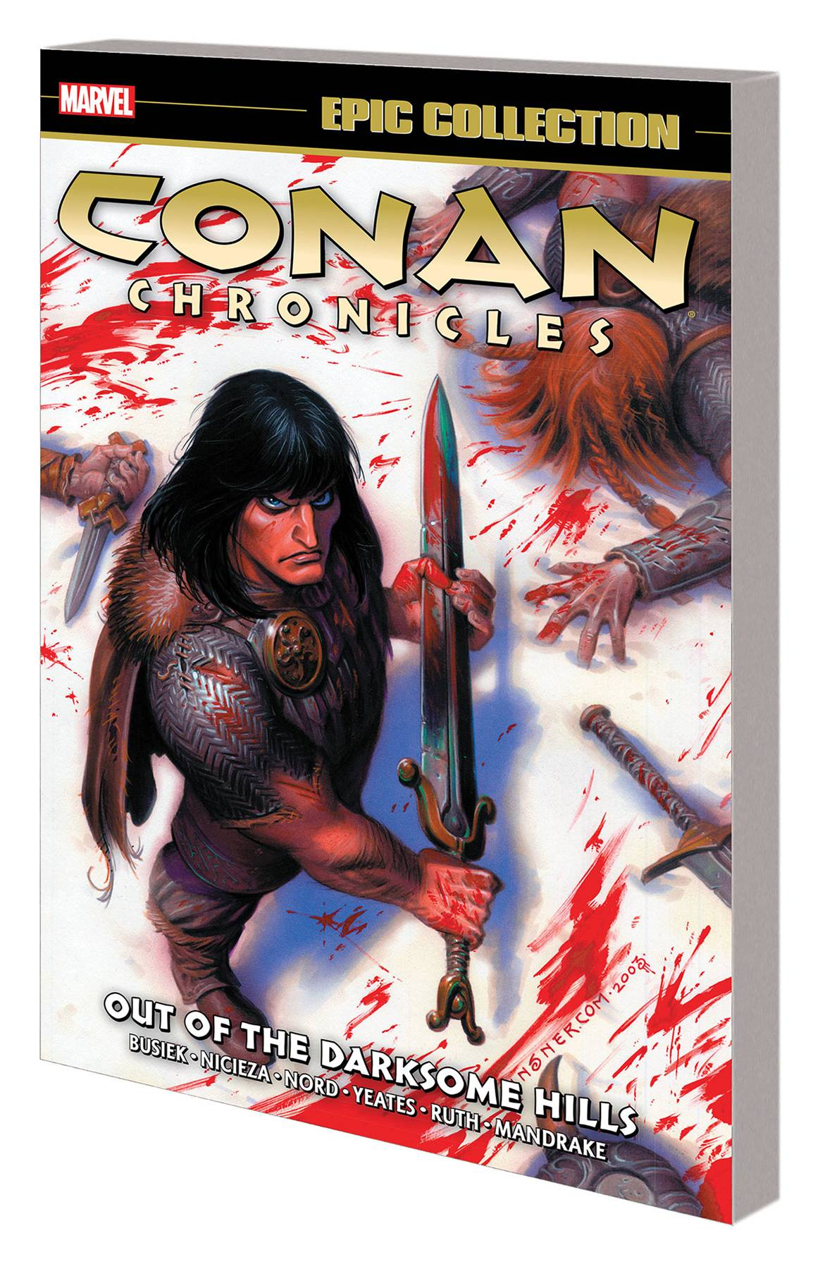 CONAN CHRONICLES EPIC COLLECTION TP DARKSOME HILLS