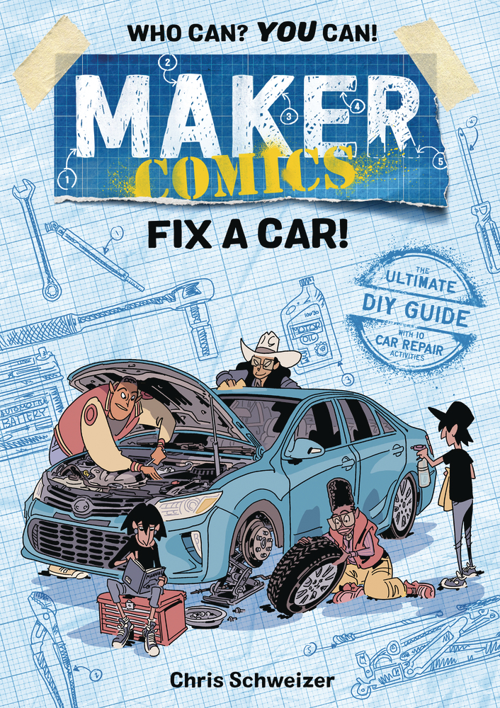 MAKER COMICS HC GN FIX A CAR