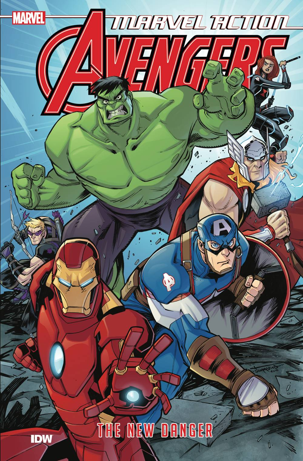 MARVEL ACTION AVENGERS TP BOOK 01 NEW DANGER