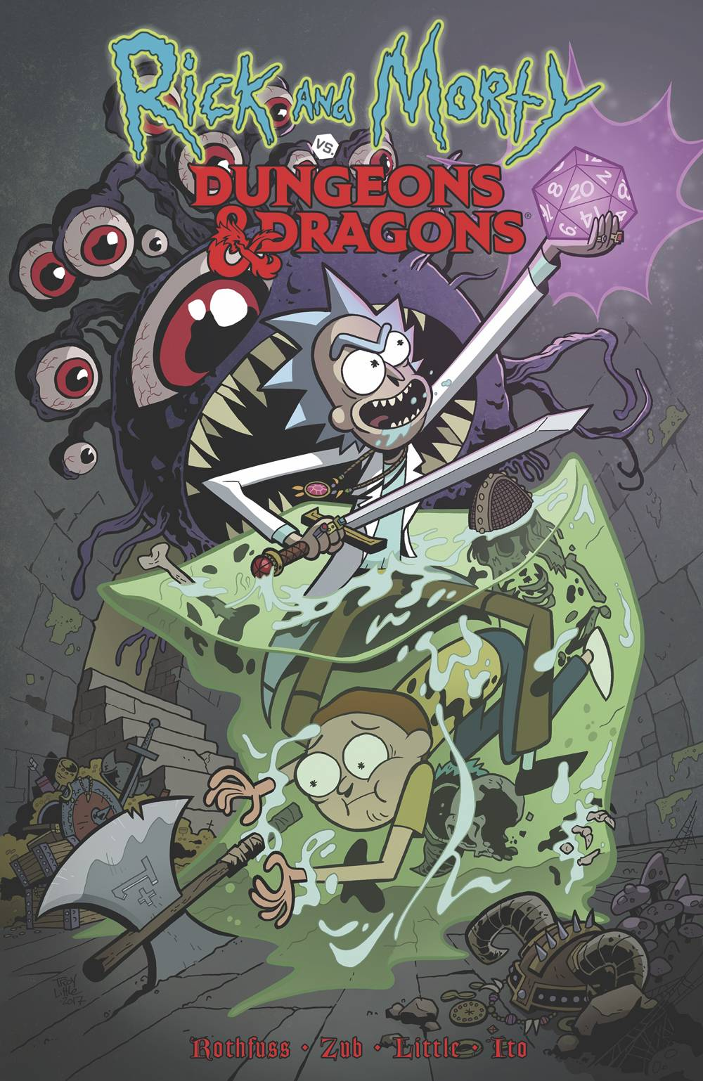 RICK AND MORTY VS DUNGEONS & DRAGONS TP VOL 01