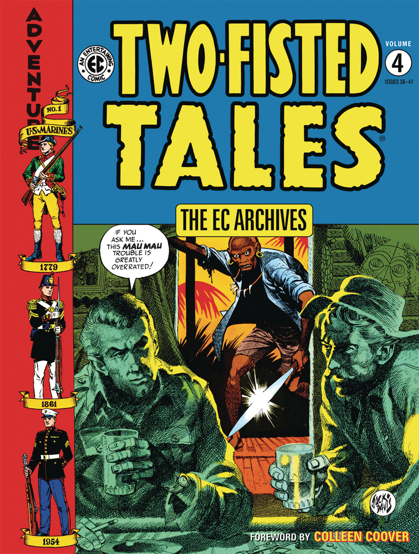 EC ARCHIVES TWO-FISTED TALES HC VOL 04