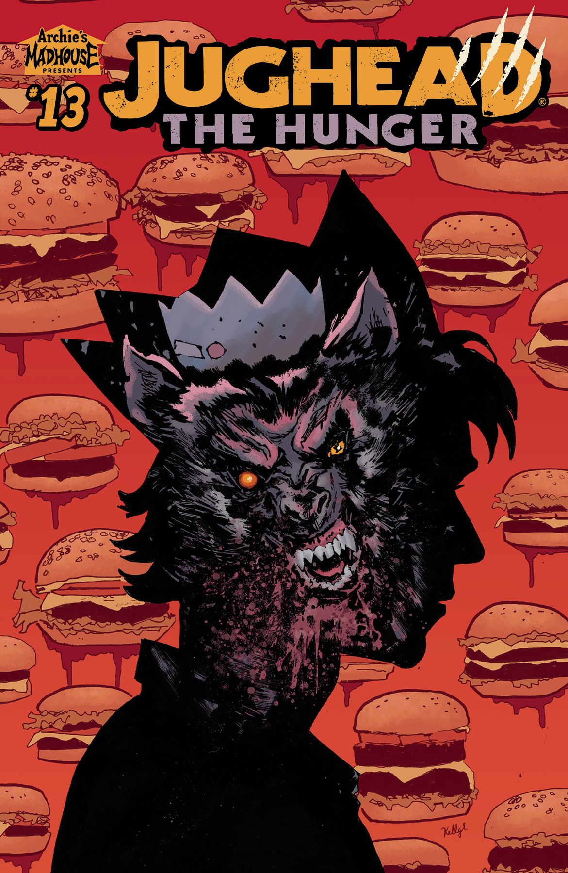 JUGHEAD THE HUNGER #13 CVR C SCOTT (MR)