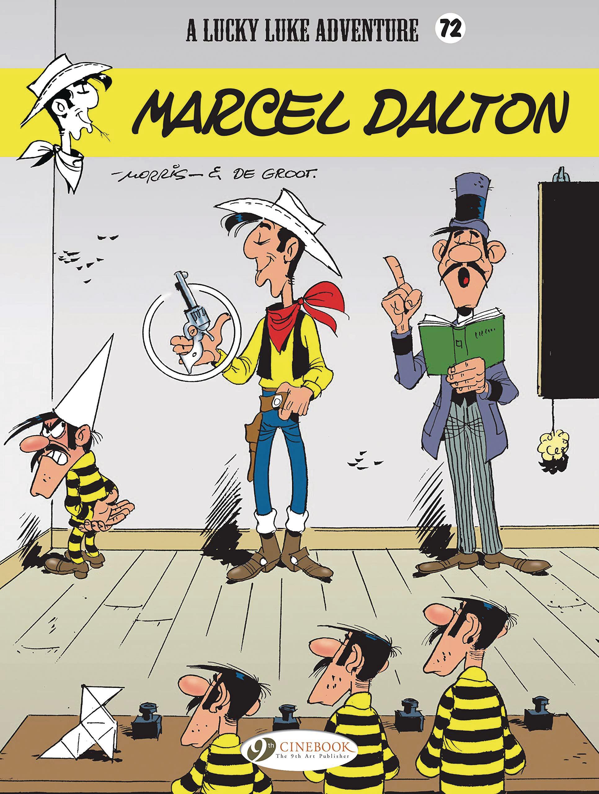 LUCKY LUKE TP VOL 72 MARCEL DALTON