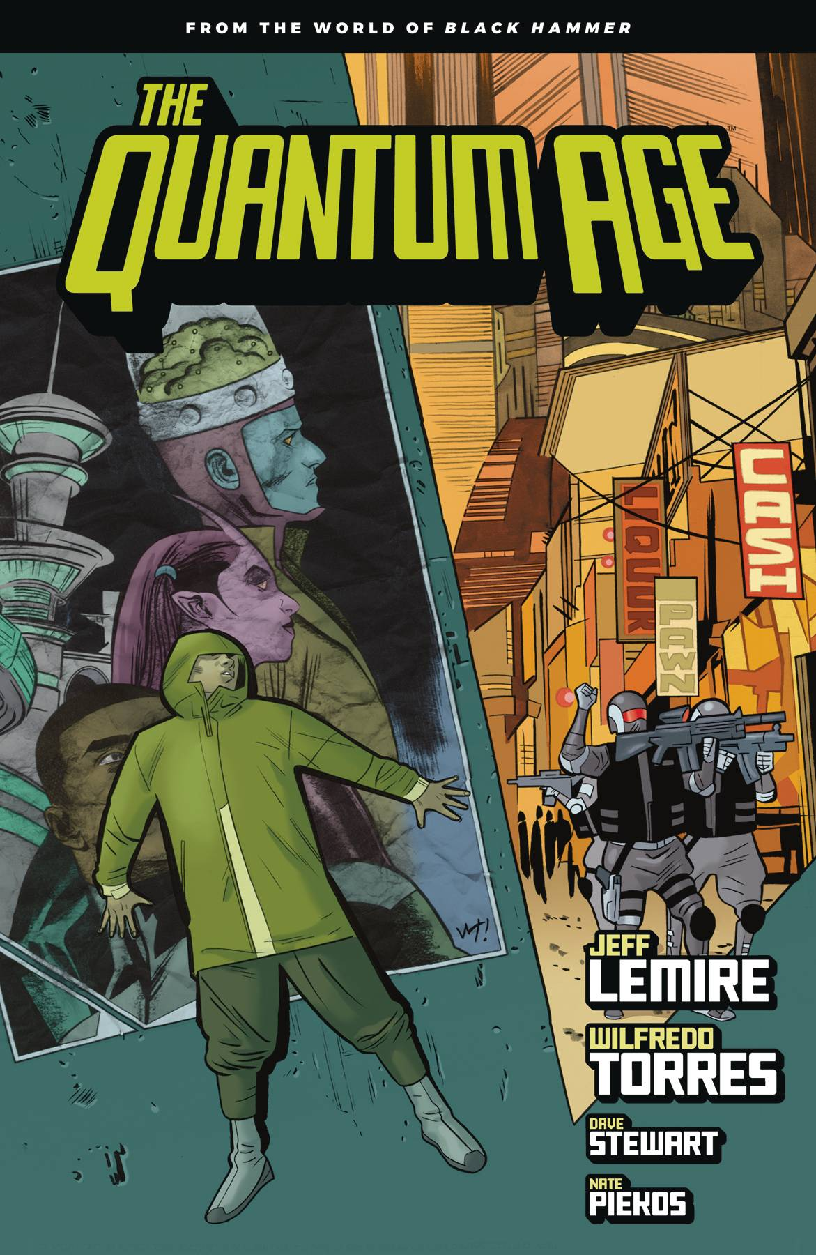 QUANTUM AGE TP FROM WORLD OF BLACK HAMMER VOL 01 (JAN190414)