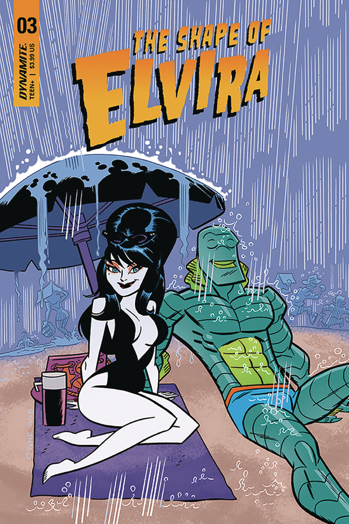 ELVIRA SHAPE OF ELVIRA #3 CVR B J BONE