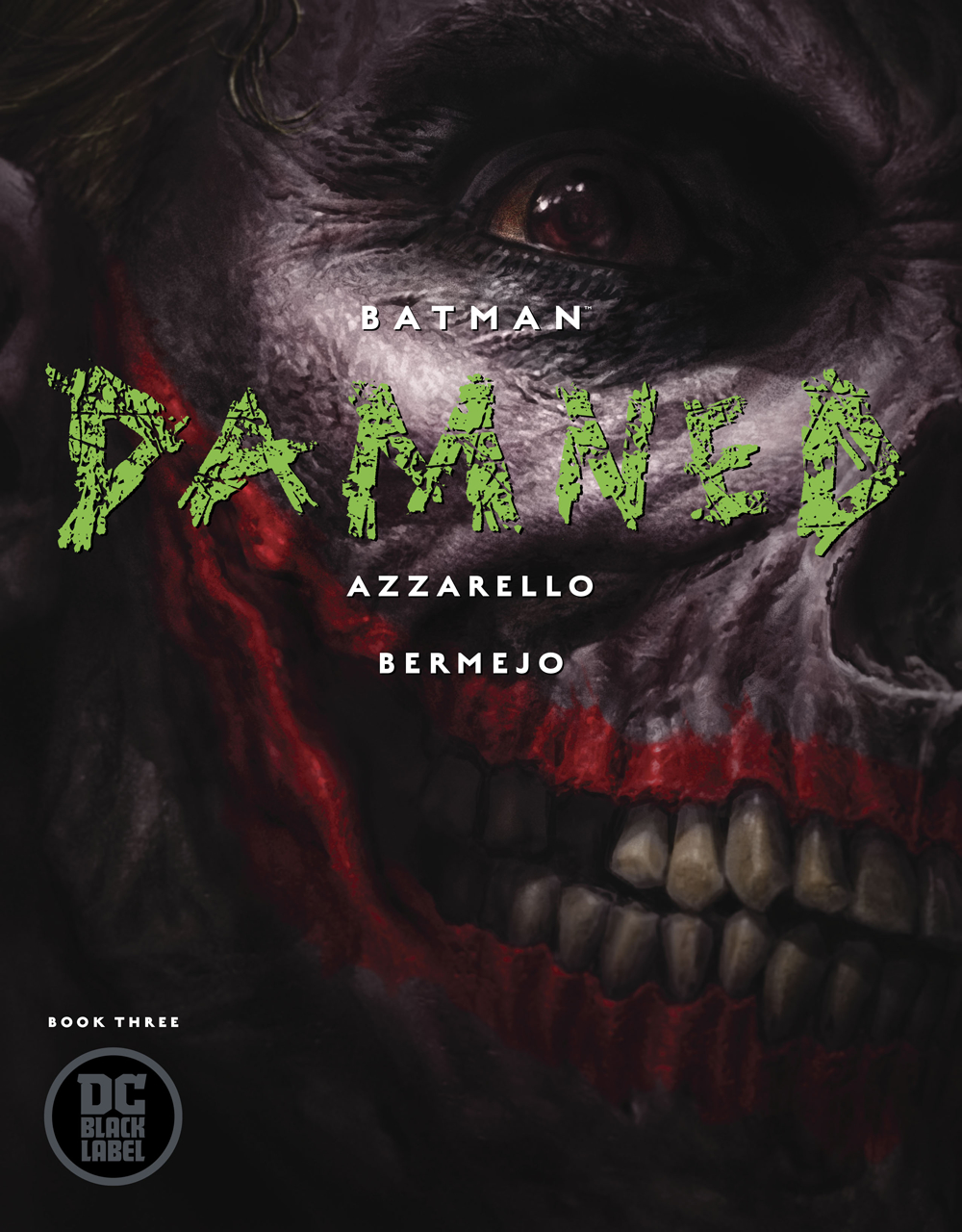 BATMAN DAMNED #3 (OF 3) (RES) (MR)