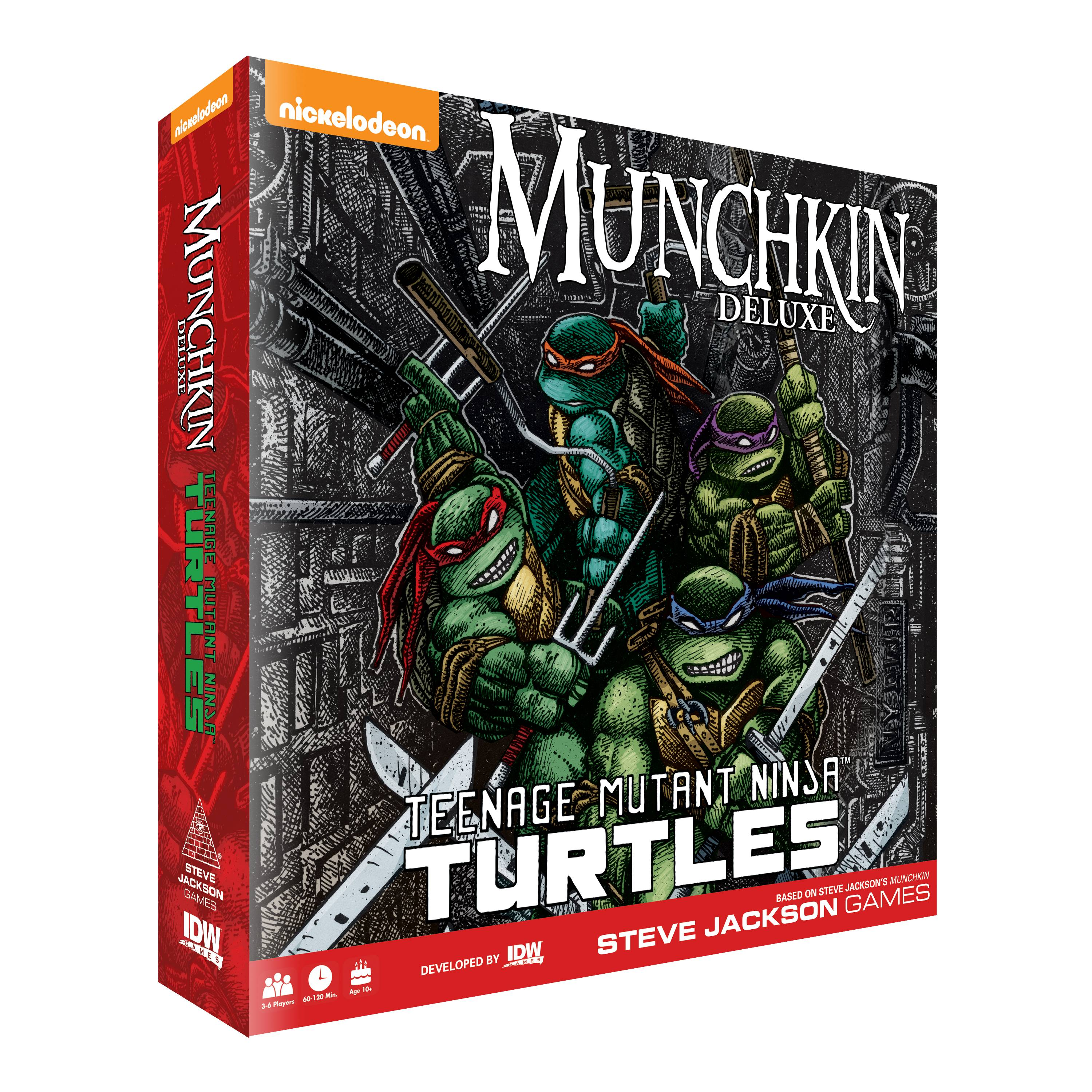 MUNCHKIN TEENAGE MUTANT NINJA TURTLES DLX ED