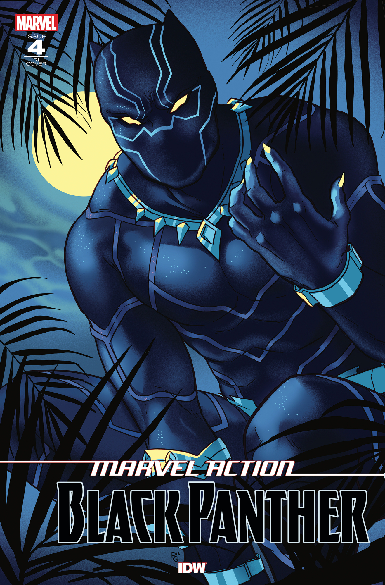 MARVEL ACTION BLACK PANTHER #4 10 COPY INCV GANUCHEAU