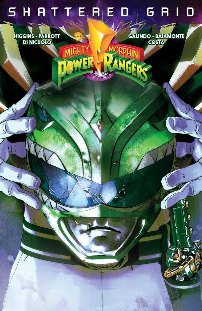 MIGHTY MORPHIN POWER RANGERS SHATTERED GRID TP