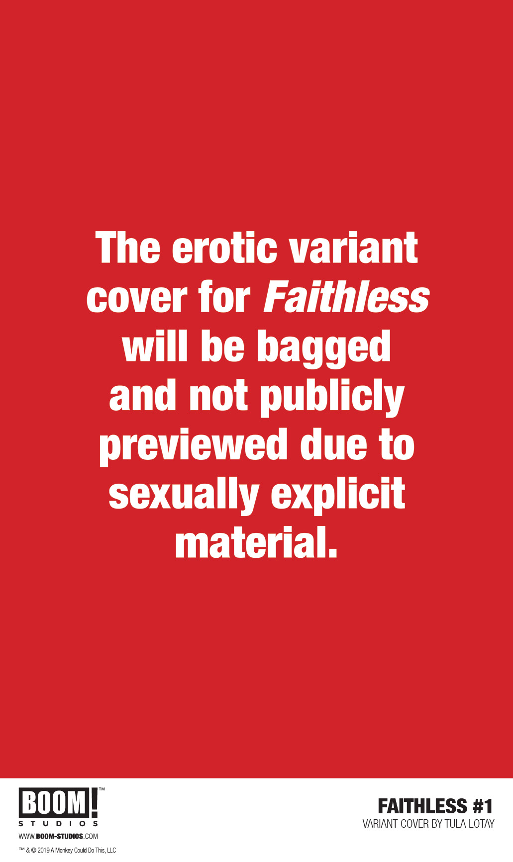FAITHLESS #1 (OF 6) CVR B LOTAY EROTICA VAR (MR)