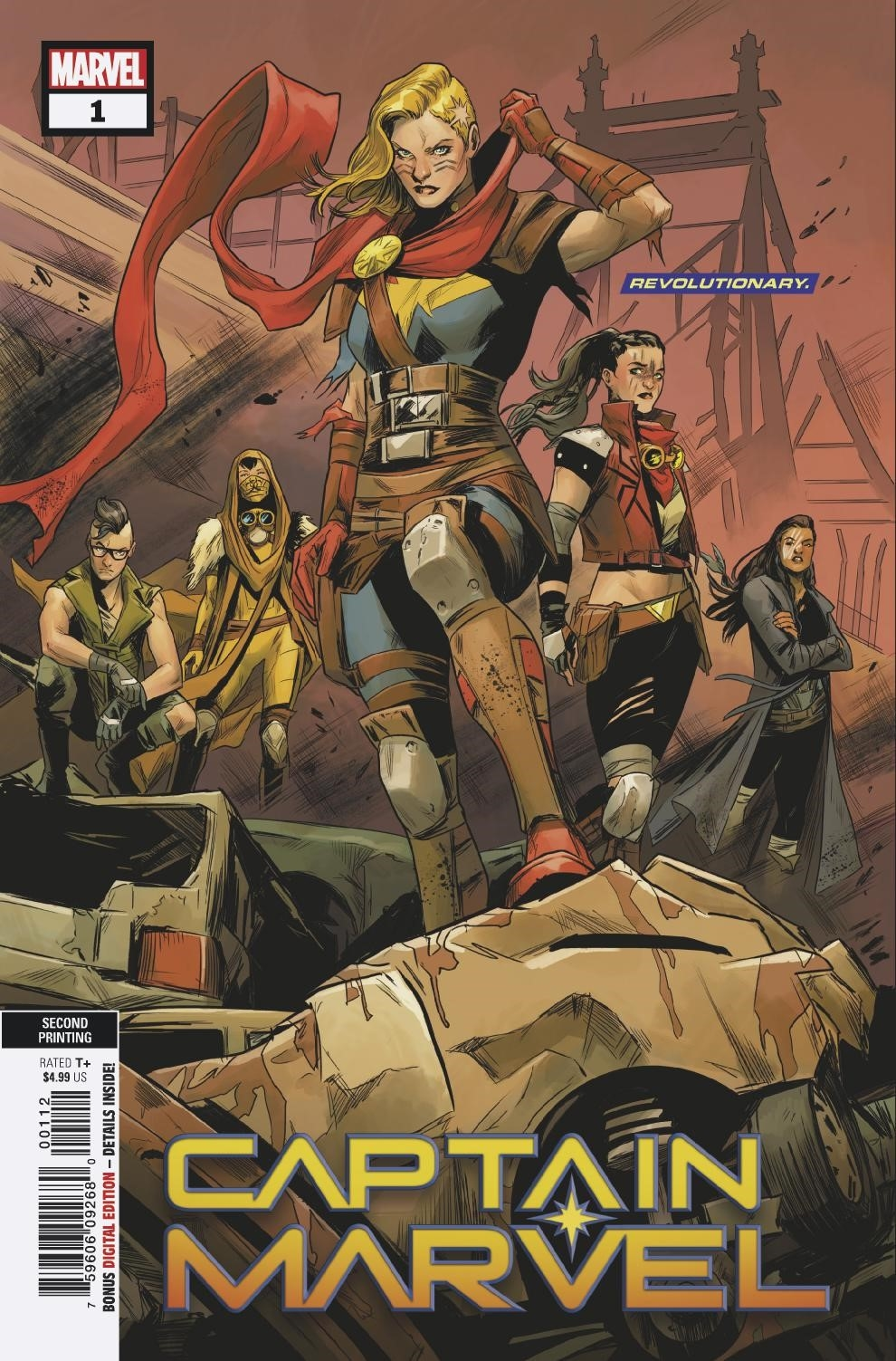 CAPTAIN MARVEL #1 2ND PTG CARNERO VAR