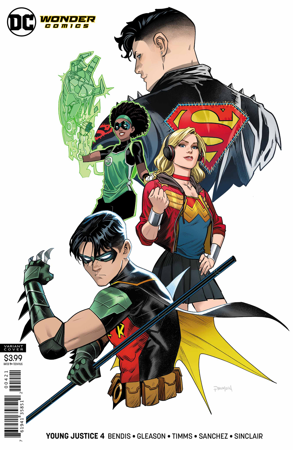 YOUNG JUSTICE #4 VAR ED