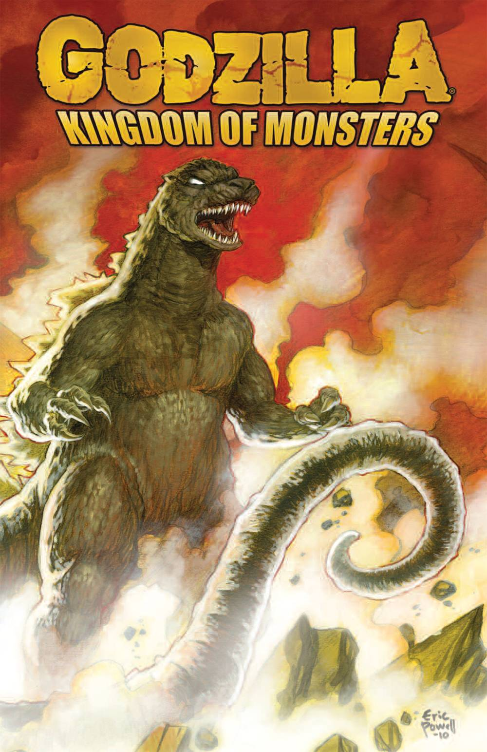 GODZILLA KINGDOM OF MONSTERS TP (MAR190731)