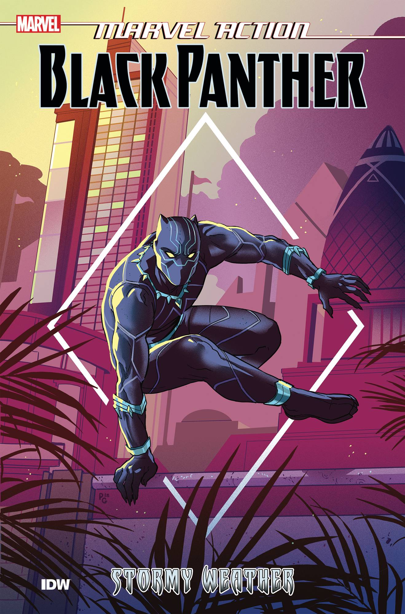 MARVEL ACTION BLACK PANTHER TP BOOK 01 STORMY WEATHER (MAR19
