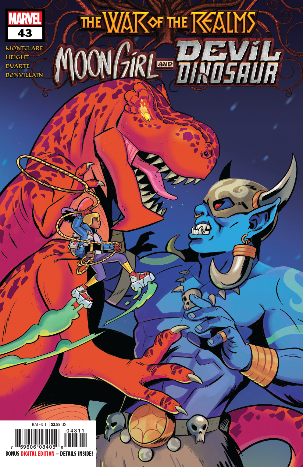 MOON GIRL AND DEVIL DINOSAUR #43 WR