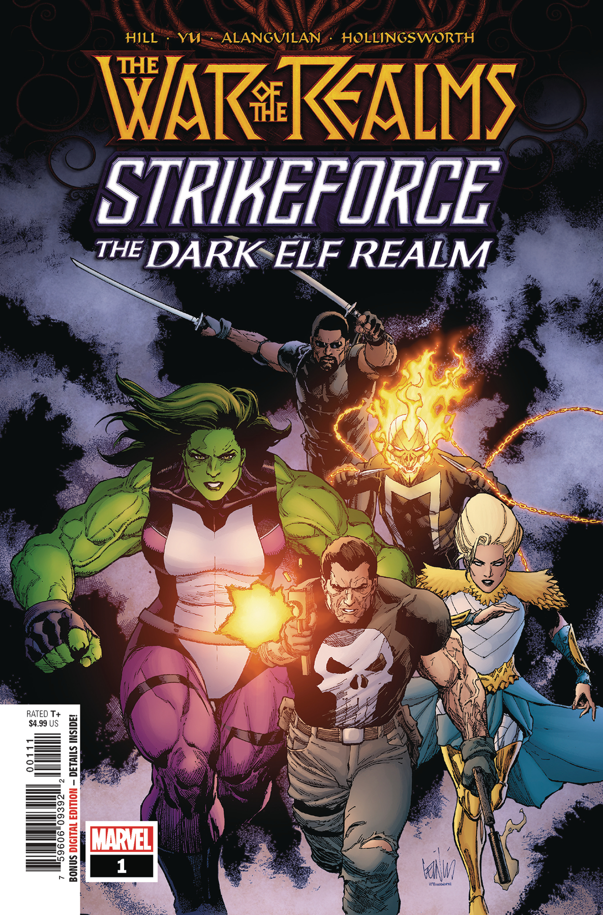WAR OF REALMS STRIKEFORCE DARK ELF REALM #1 WR