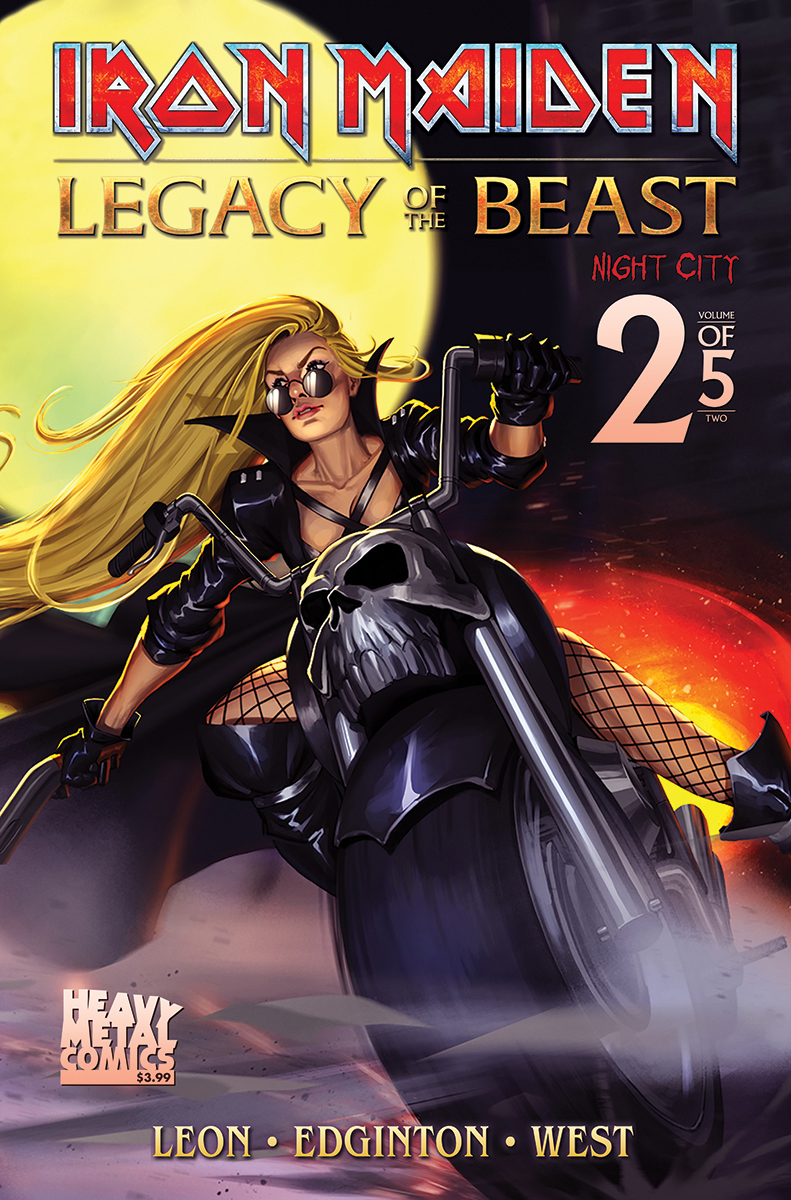 IRON MAIDEN LEGACY O/T BEAST VOL 2 NIGHT CITY #2 CVR B TBD