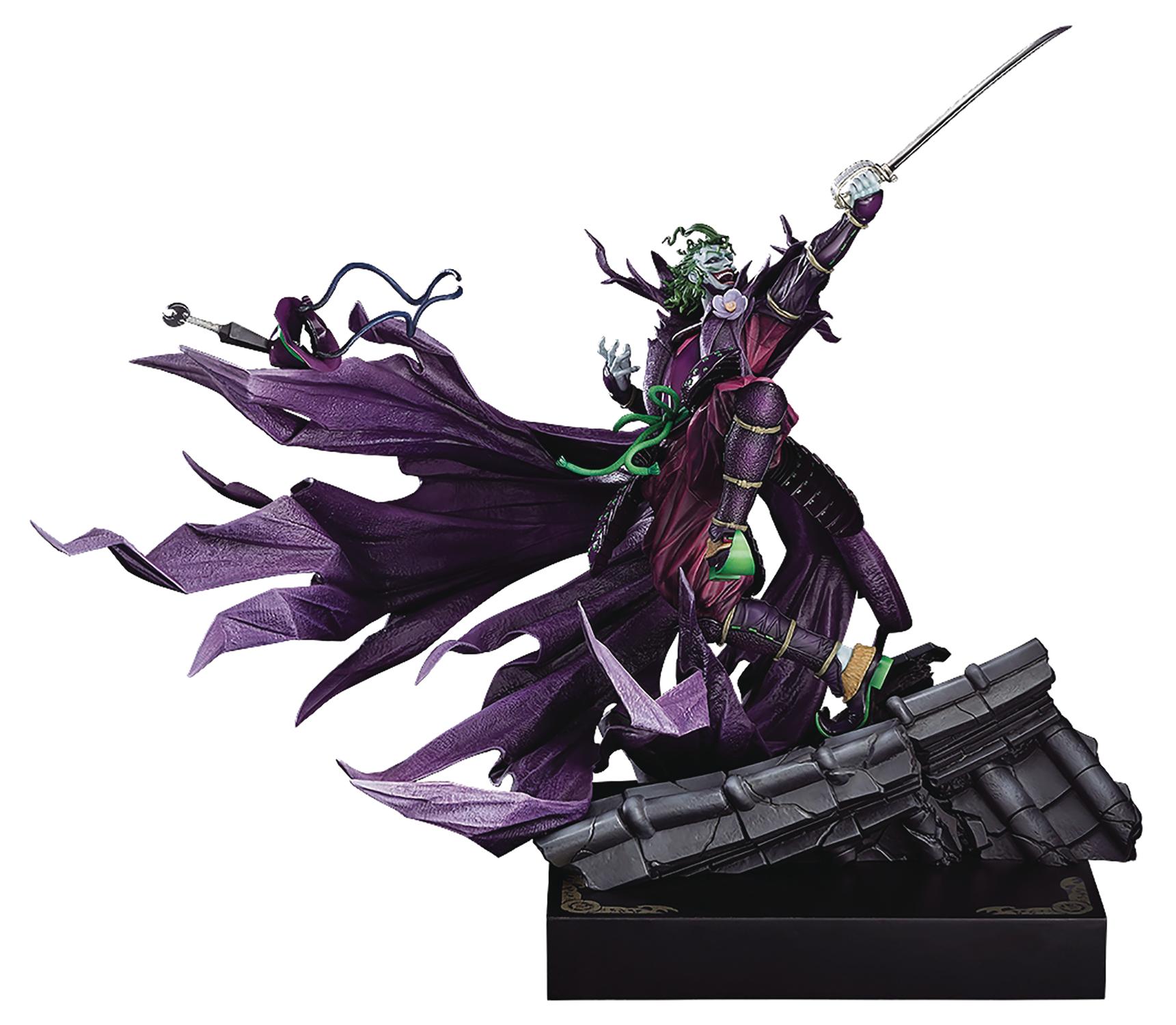 Dec188968 Batman Ninja Sengoku Joker 1 6 Pvc Statue Takashi Okazaki Ve Previews World