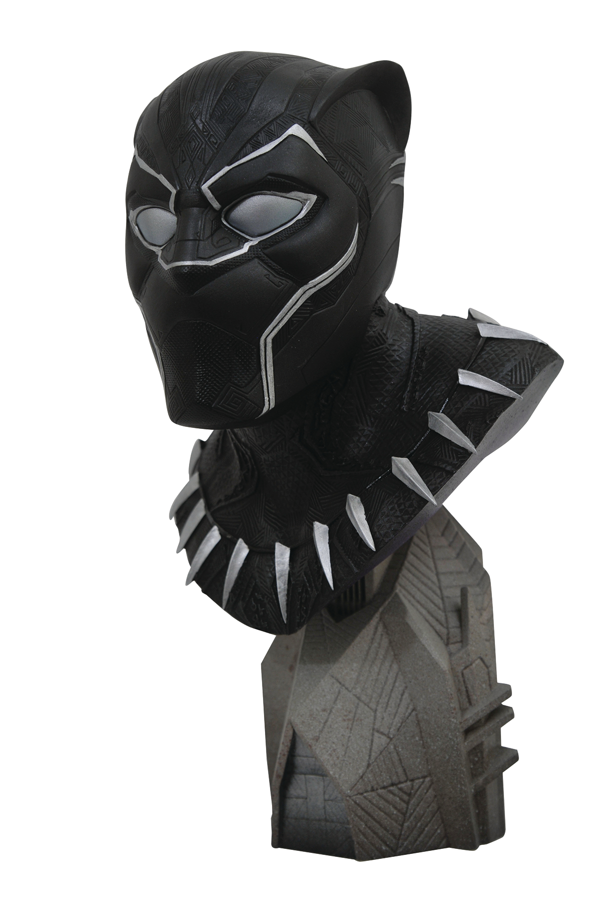 LEGENDS IN 3D MARVEL MOVIE AVENGERS 3 BLACK PANTHER 1/2 SCAL