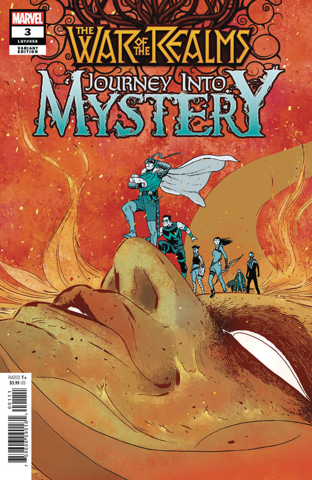 WAR OF REALMS JOURNEY INTO MYSTERY #3 (OF 5) MARTIN VAR