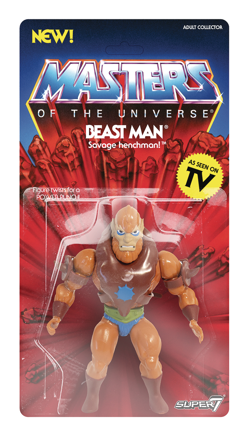 MOTU 5.5IN VINTAGE WAVE 2 BEASTMAN ACTION FIGURE