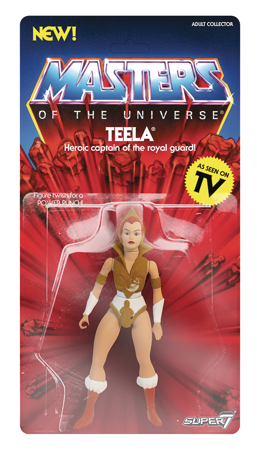 MOTU 5.5IN VINTAGE WAVE 2 TEELA ACTION FIGURE