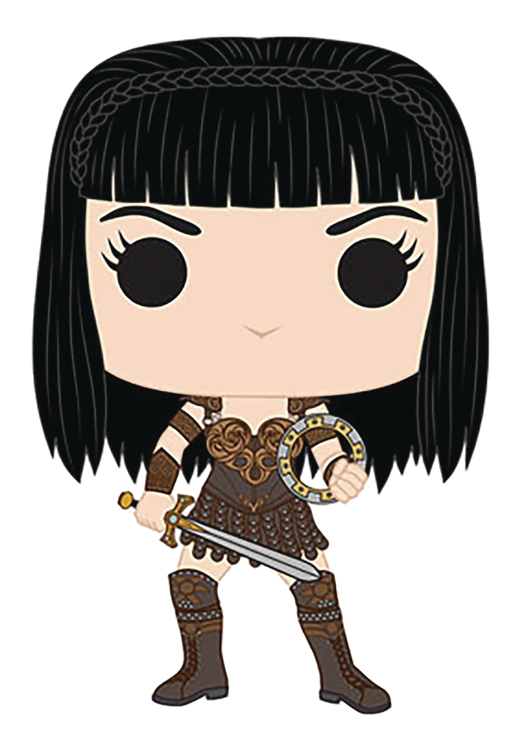 POP TV XENA WARRIOR PRINCESS VINYL FIG