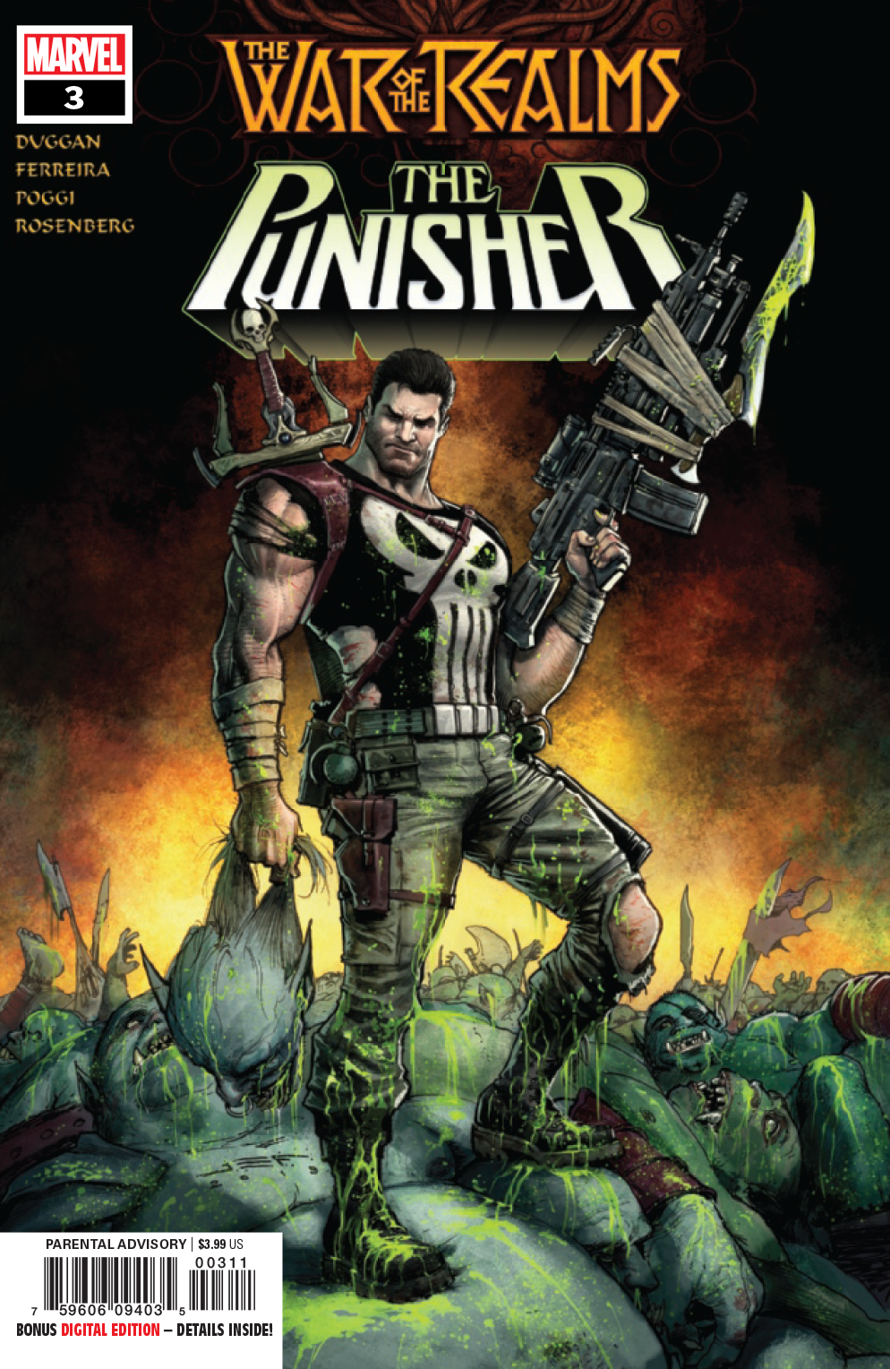 WAR OF REALMS PUNISHER #3 (OF 3) WR