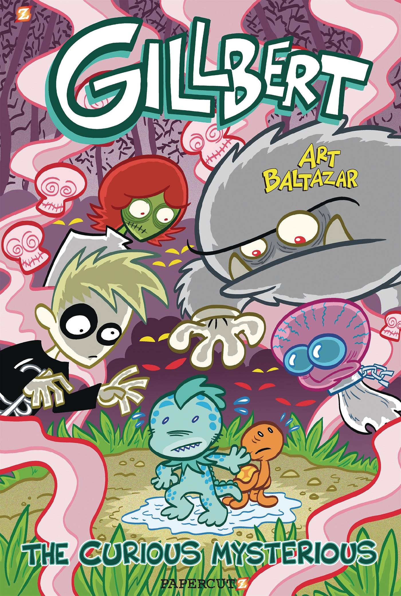 GILLBERT THE LITTLE MERMAN GN VOL 02 CURIOUS MYSTERIOUS