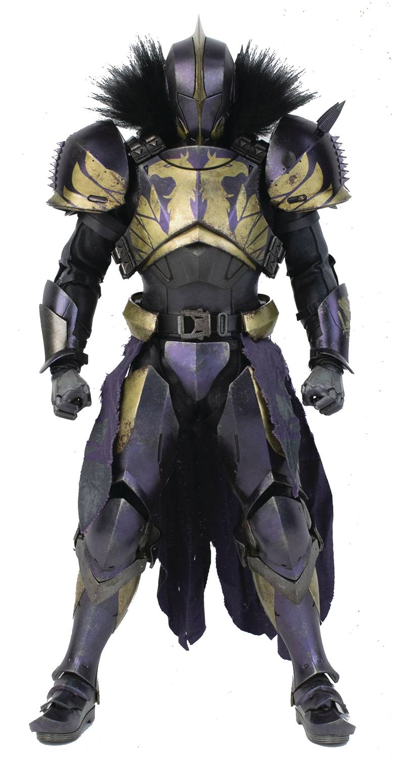 DESTINY TITAN GOLDEN TRACE SHADER 1/6 SCALE FIG (Net)