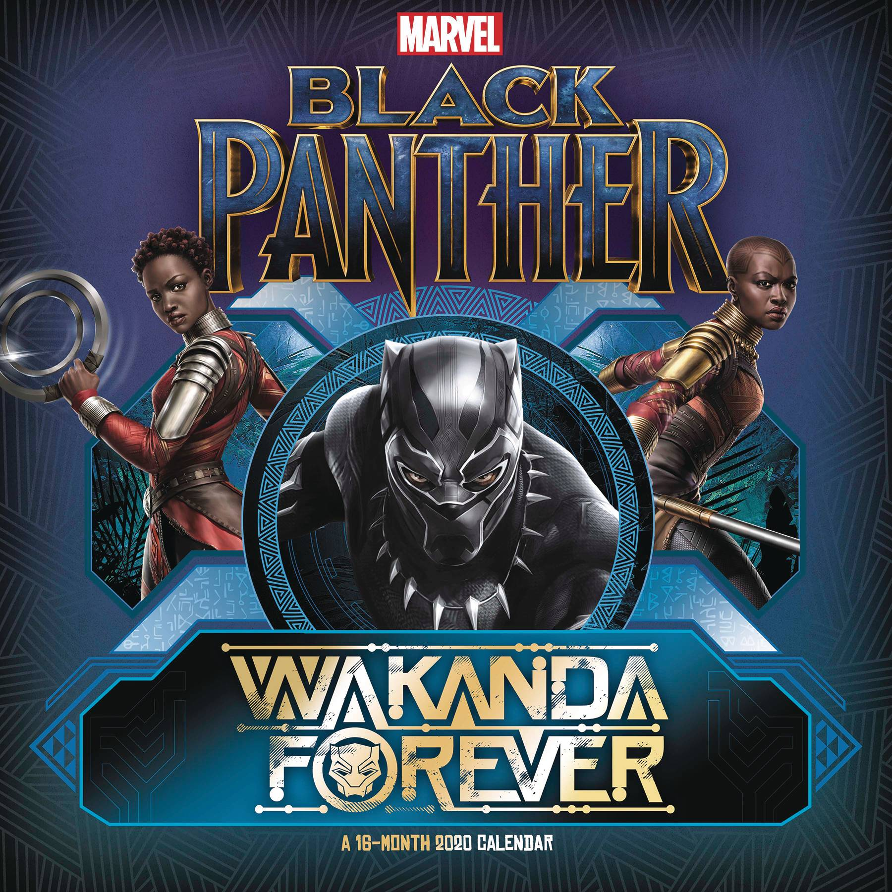APR192406 - BLACK PANTHER WAKANDA FOREVER 2020 WALL CAL - Previews World