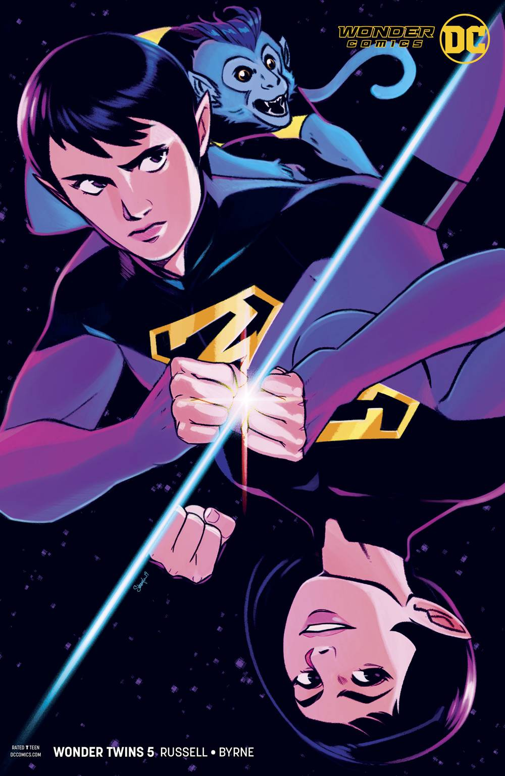 WONDER TWINS #5 (OF 6) VAR ED