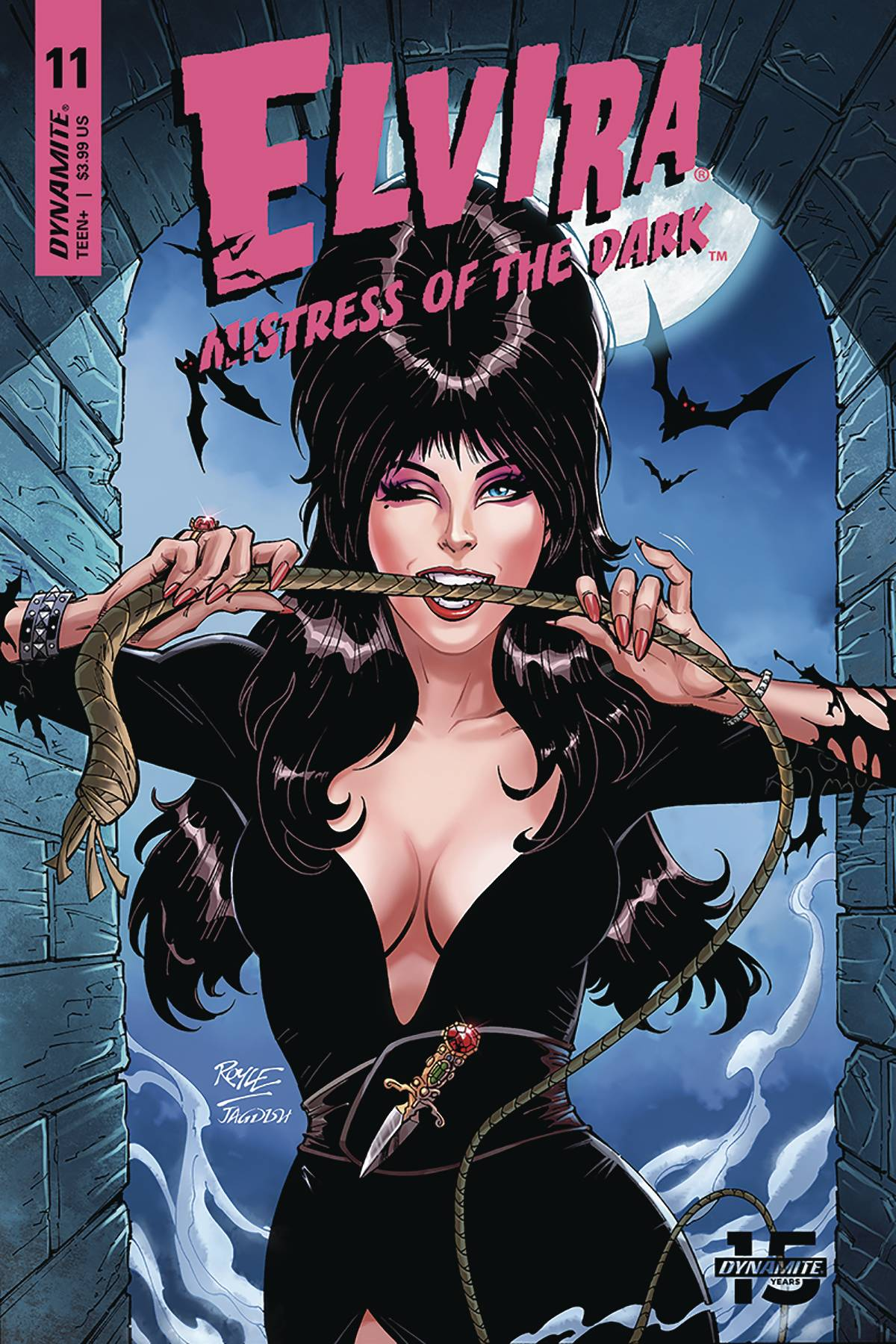 Elvira Mistress of the Dark #11C Royle Variant NM 2020 Stock Image