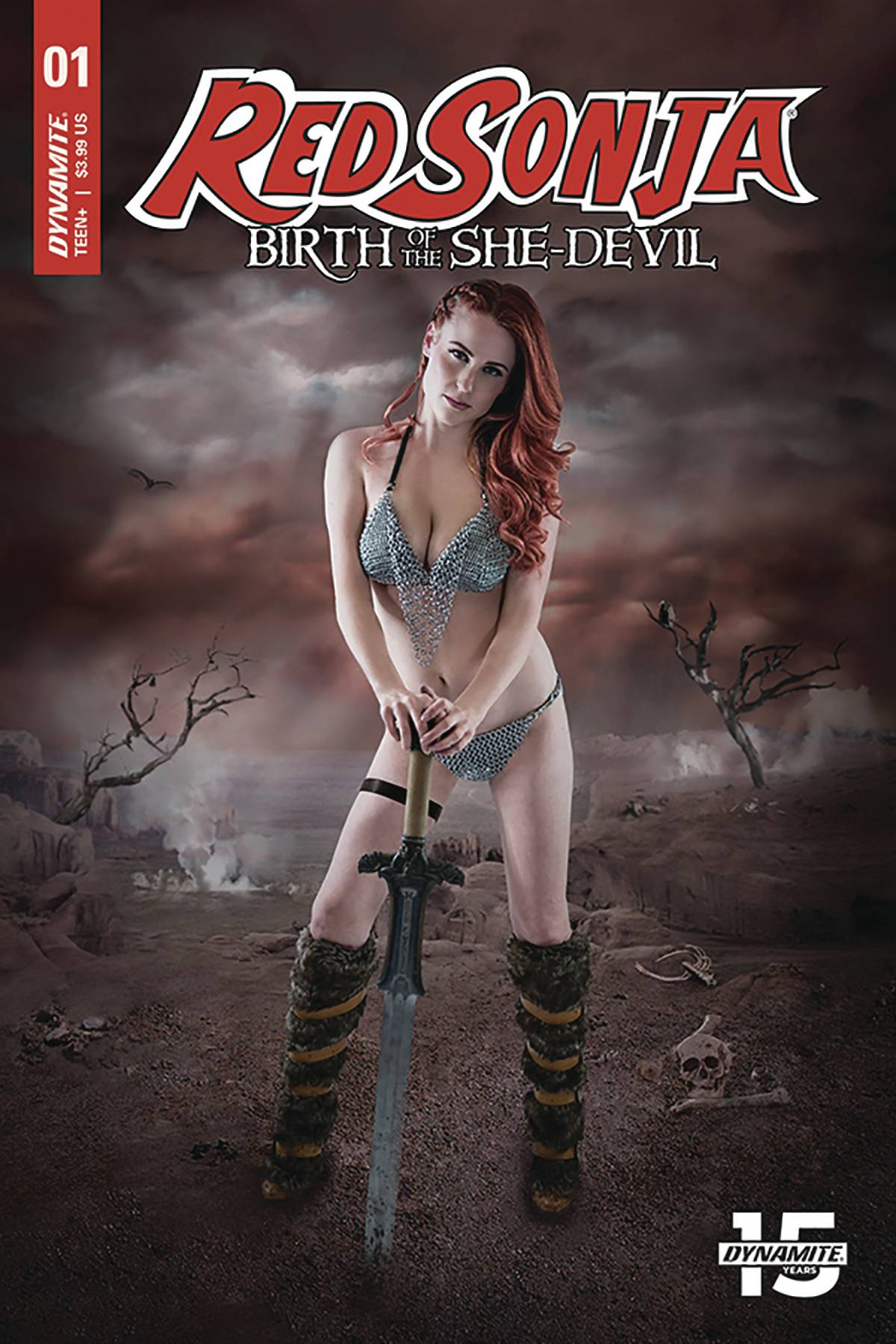 RED SONJA BIRTH OF SHE DEVIL #1 CVR C COSPLAY