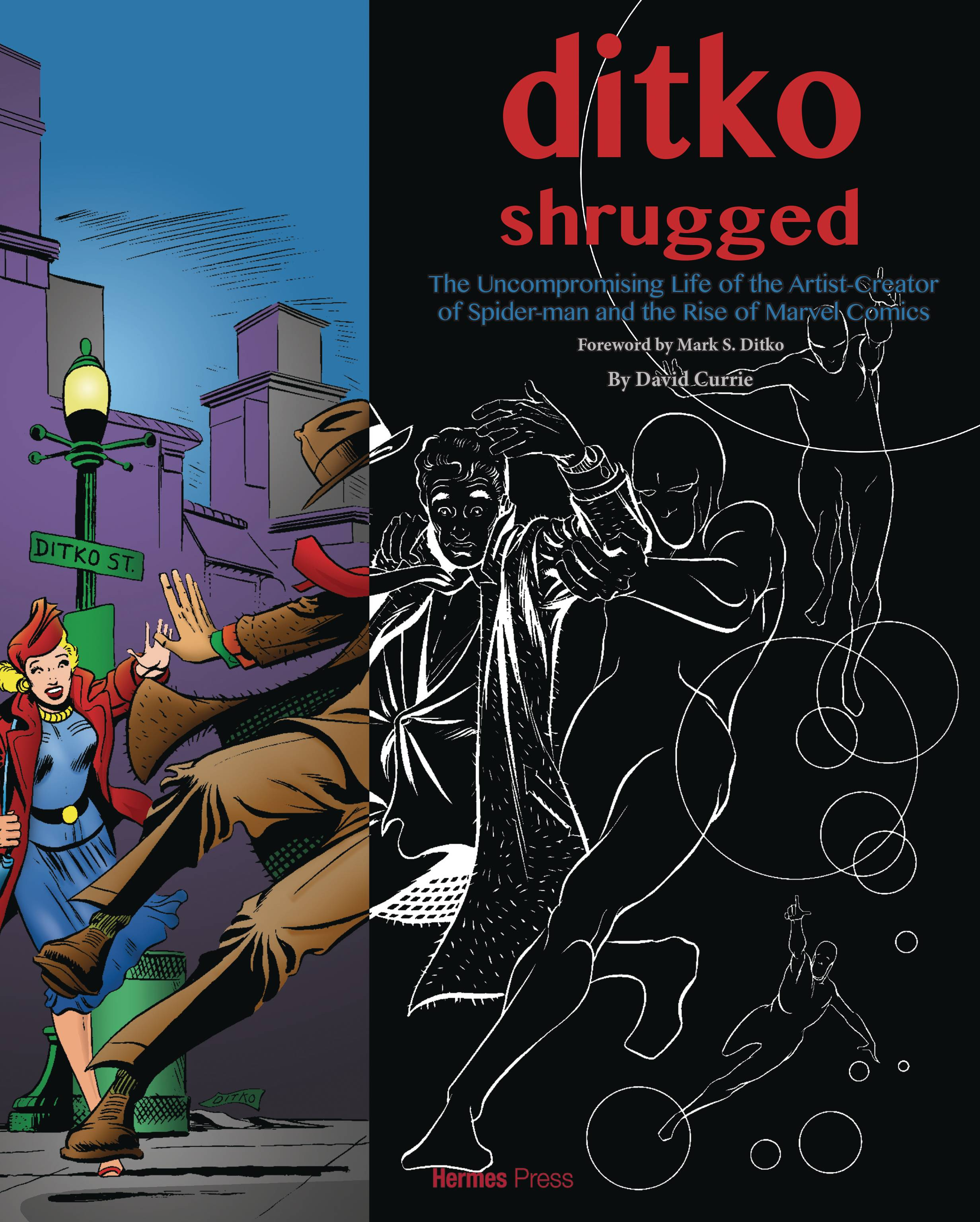 DITKO SHRUGGED UNCOMPROMISING LIFE OF THE ARTIST (RES)