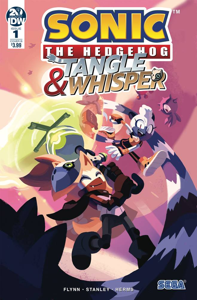 SONIC THE HEDGEHOG TANGLE & WHISPER #1 CVR B FOURDRAINE